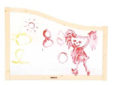 华森葳 功能家具 挪威森林-透明绘图屏风(8060)