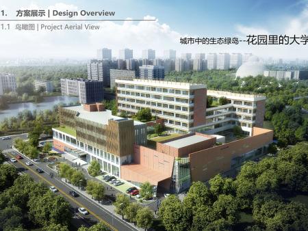 宁夏老年大学项目设计图