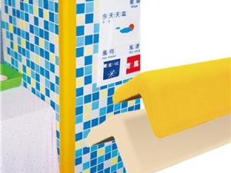 华森葳 功能家具 防撞护条-黄色