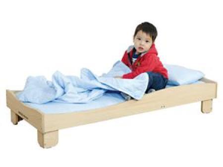 华森葳 功能家具 维也纳可堆叠儿童床(130)