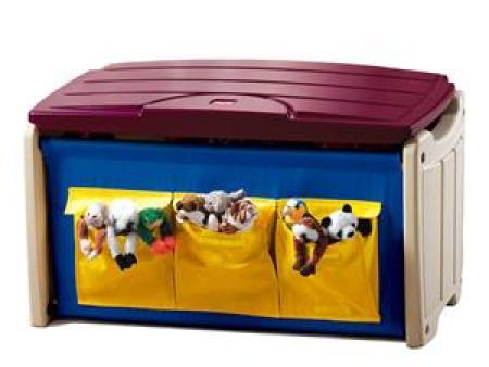 华森葳 森林主题功能家具 实用玩具箱