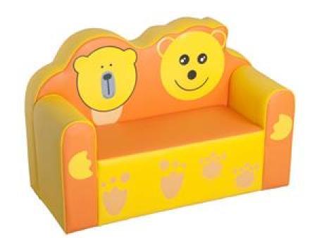 华森葳 沙发座椅系列 可爱熊双人沙发