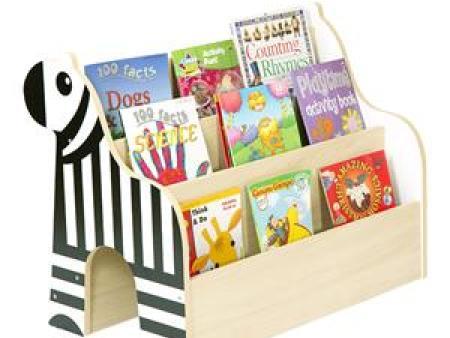 华森葳 动物图书柜 斑马双面书柜(枫木纹)