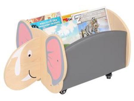 华森葳 动物图书柜 大象移动书柜