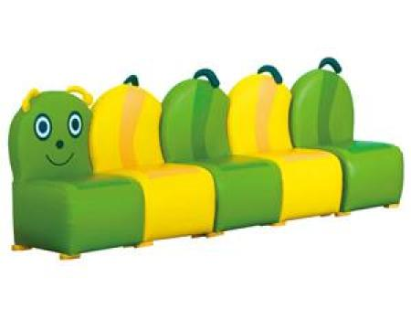 华森葳 沙发座椅系列 组合式毛虫沙发