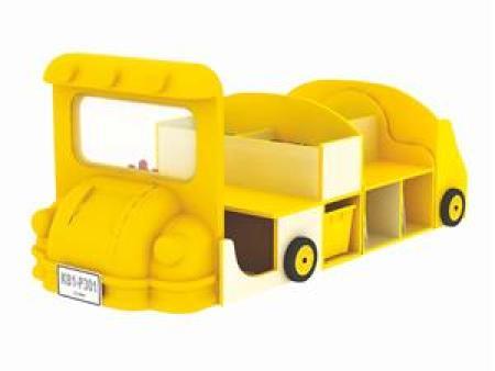 华森葳 综合图书柜 新泰笛巴士组合图书柜(枫木纹)