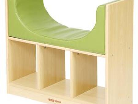 华森葳 综合图书柜 简易阅读沙发柜