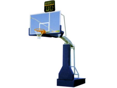 惠州电动液压豪华篮球架