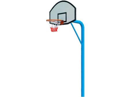 小型埋土篮球架