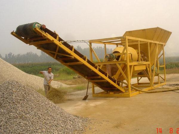 振动洗石机械