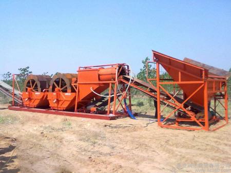 洗砂设备的机器安装维修和操作
