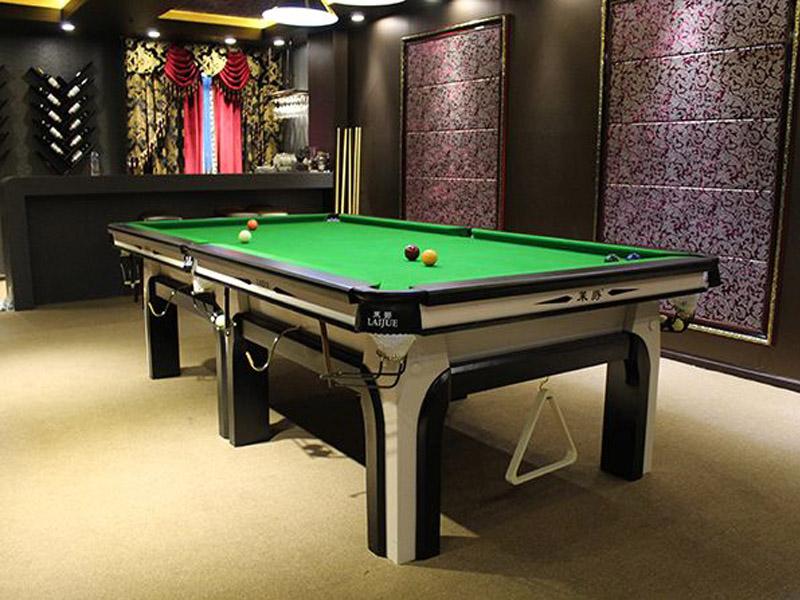 青海台球桌专卖店-台球桌是由哪些材料制造而成的?