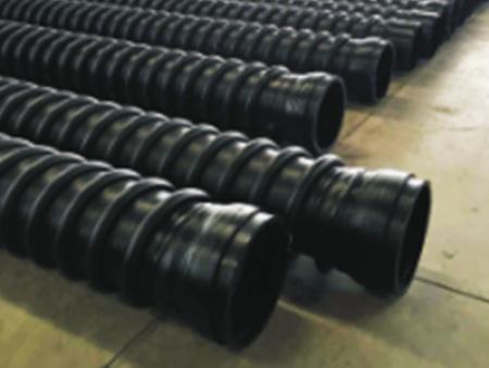 HDPE增强缠绕结构壁B型管