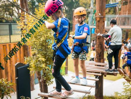 儿童拓展训练器材-丛林探险