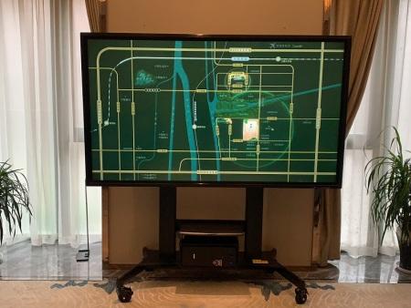 """售楼处用上大屏幕----苏州凯士卡""""3D看房触摸平博体育"""""""