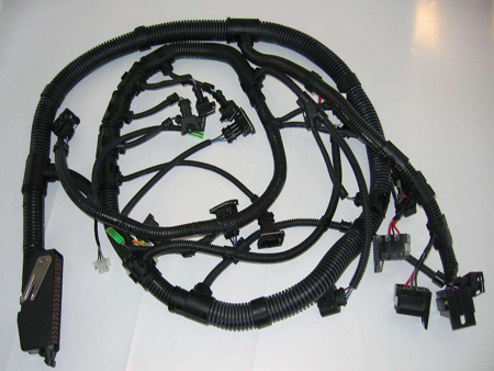 汽车用电线束做什么?
