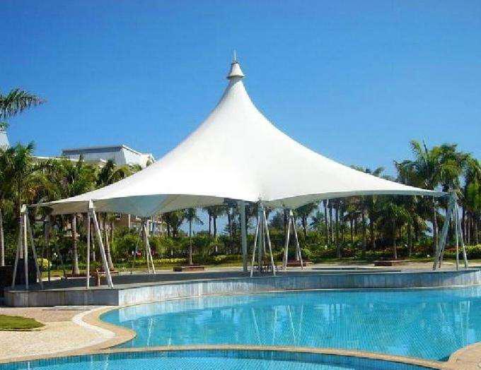 游泳馆膜结构遮阳棚