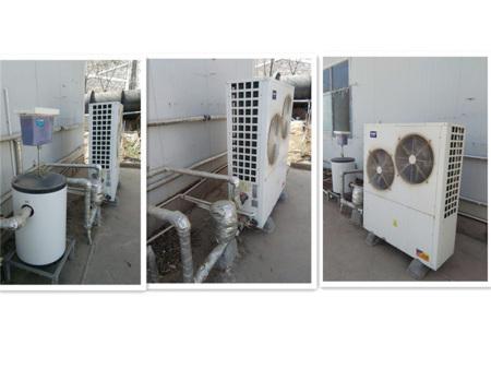 青海蘇志電站空氣能熱泵施工案列