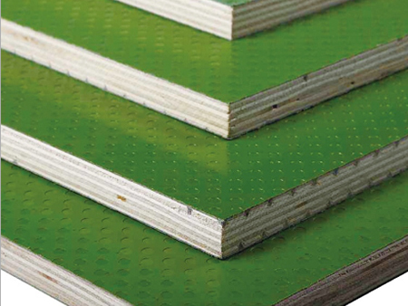 Green Plastic plywood
