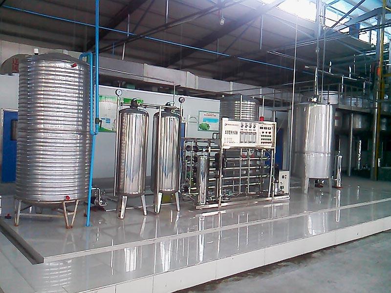 2吨大连水厂用全不锈钢纯净水设备