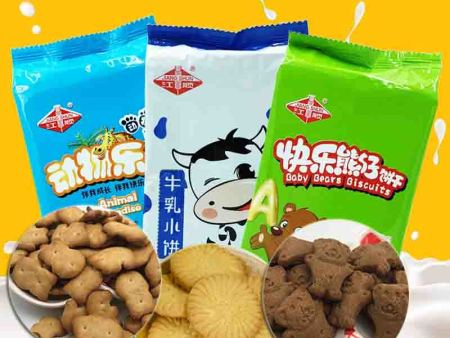 Creating a New Star for Children's Biscuits- Jiangshun