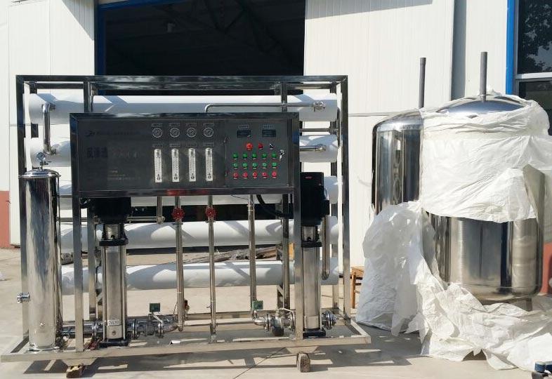 4吨泰安东平双级反渗透设备