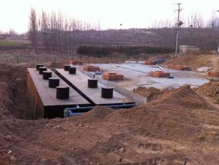 安徽滁州生活污水安装现场