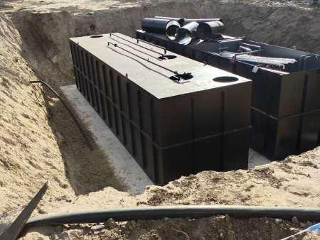 湖南韶山农村污水处理设备现场