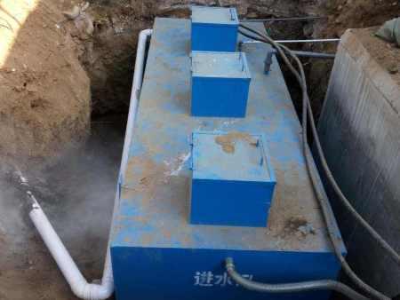 江苏盐城油脂污水设备安装现场