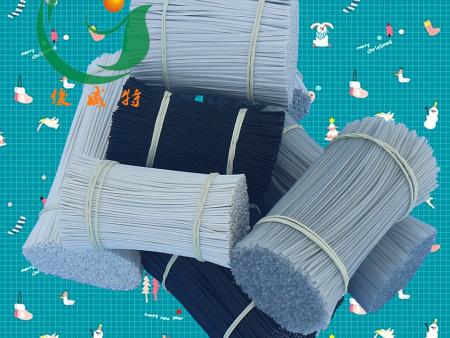 PVC环保镀锌铁芯扎线 园林花卉植物捆绑带 电源线数据线包塑扎丝