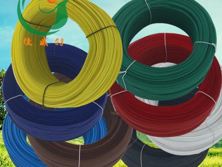 PE环保包胶绑扎线花卉蔬菜园林葡萄枝电源线艺术工艺品捆绑扎带