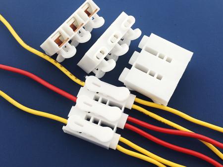 阻燃按压式快速接线端子并线器铜片连接led灯具电器电线连接830#