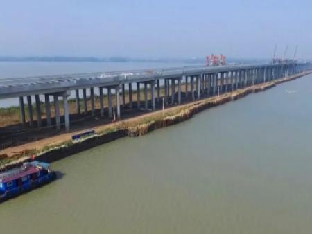 安徽滁州女山湖特大桥!