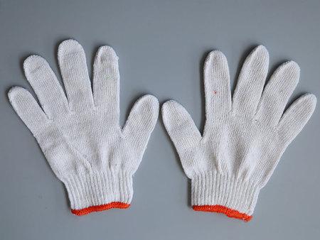 线手套为手提供更多的防护