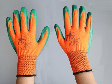 劳保线手套批发加工来浩雨劳保品质可靠