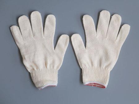 十针加密棉纱手套