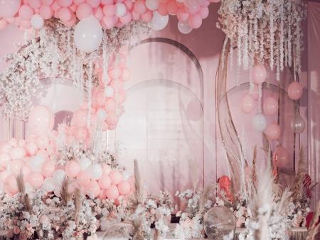 定單率最高的套系,偶粉色的大多數人喜歡。