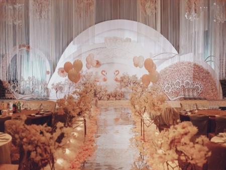 新人婚禮必看香檳色主題套系