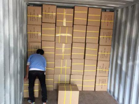 劳保用品出口装箱