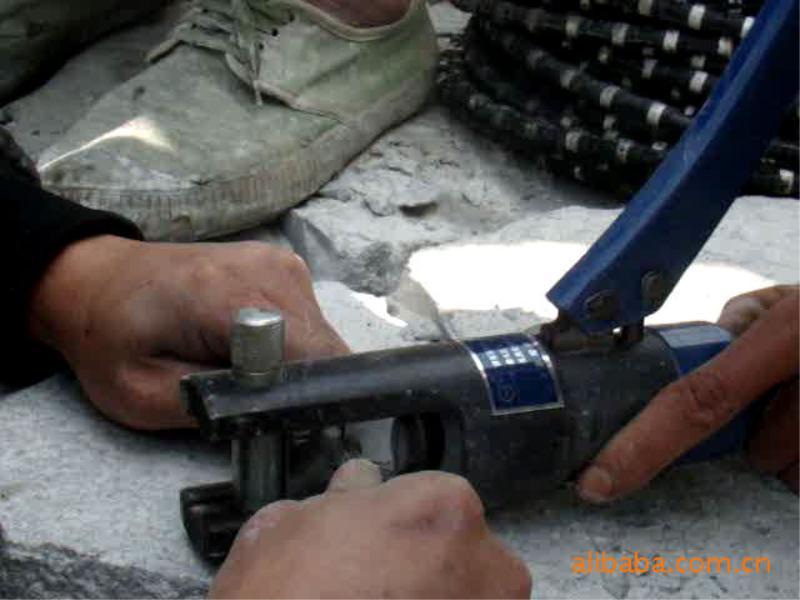 供应金刚石绳锯专用镀锌接头