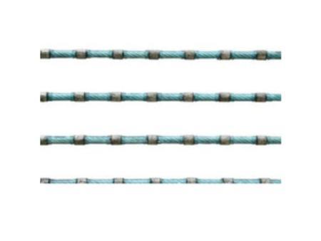 厂家直销高效率切割钢筋混凝土金刚石绳锯串珠