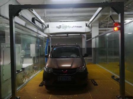 自动洗车机洗车成品展示