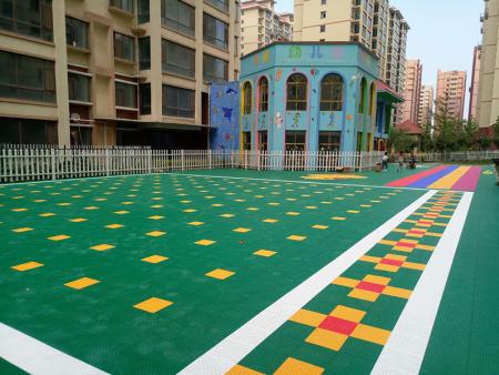 武山县博雅幼儿园,悬浮地板