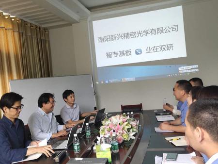 7月3日 日本AGC株式會社牛博士三人一行蒞臨我司指導工作