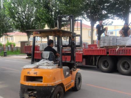 2019年7月4日早上永鼎国标钢筋套筒25吨发货!——赤峰孙总注意查收!