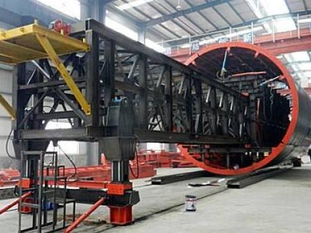隧道仰拱液壓模板臺車的施工技術介紹