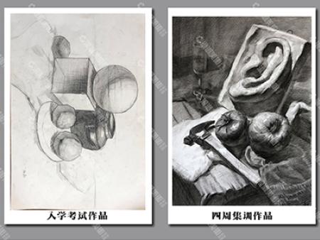 美术素描的临摹方法怎么样训练才能得到的方法呢?