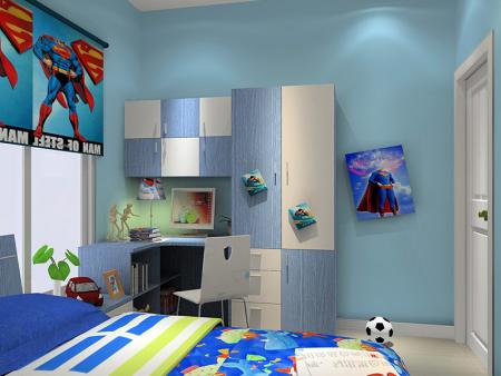如何为儿童房挑选墙面漆颜色?