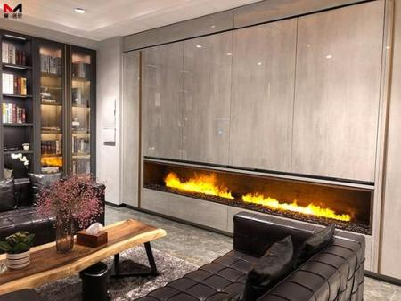 3D雾化壁炉在装饰风格中的选择