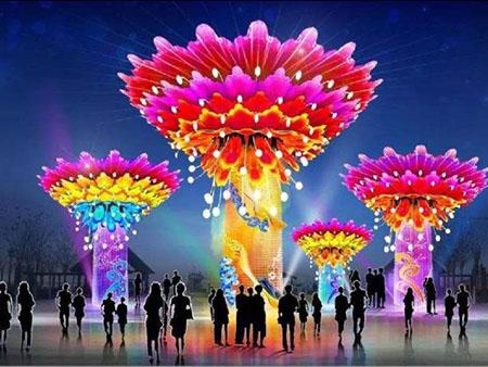 舉辦一場大型彩燈燈會的效益好嗎